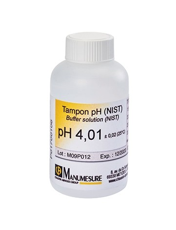 TAMPON PH 4,01 DIN-NIST flacon 125ml