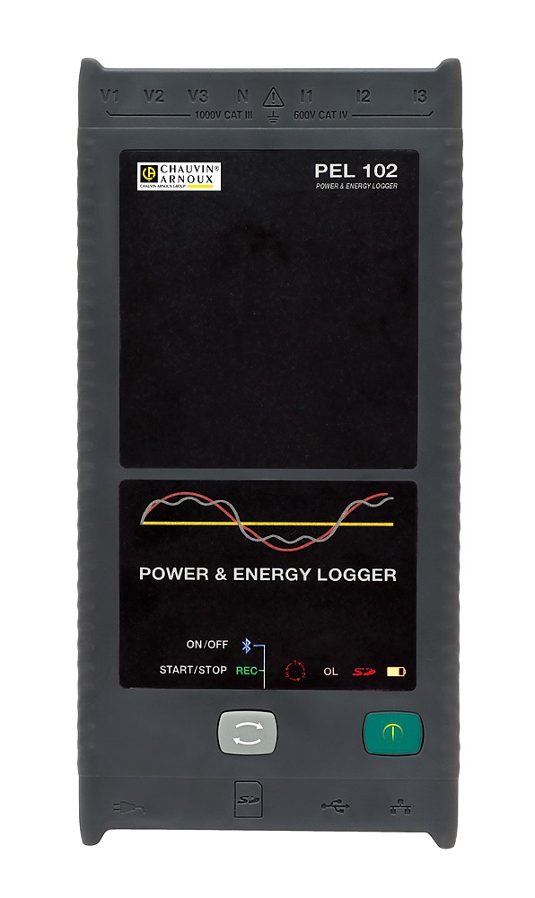 PEL102 POWER-ENERGY LOGGER