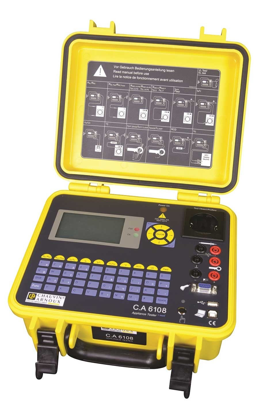 C.A 6108 GERATETESTER