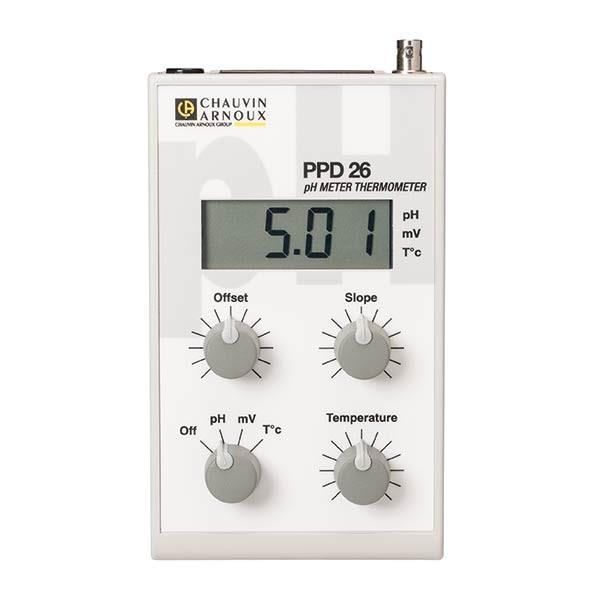 pHmetro PPD26